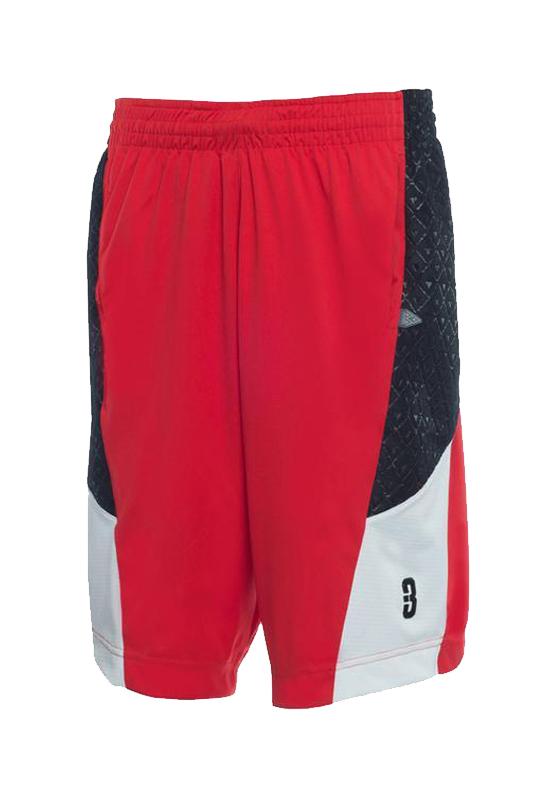 2.0 Pantaloncini-Basketball-asciugamano-pallacanestro-shorts-Red