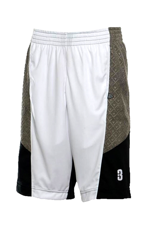 2.0 Pantaloncini-Basketball-asciugamano-pallacanestro-shorts-White