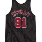 Bulls Double-Face Rodman Black