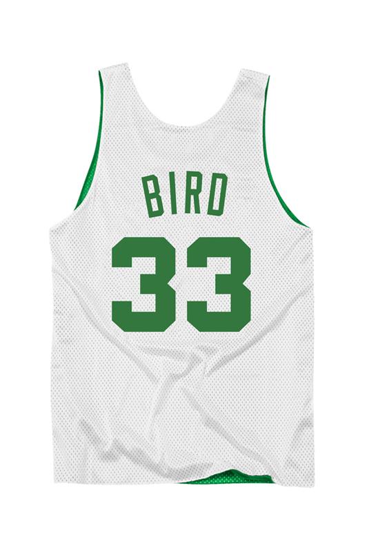 Celtics Double-Face Bird White