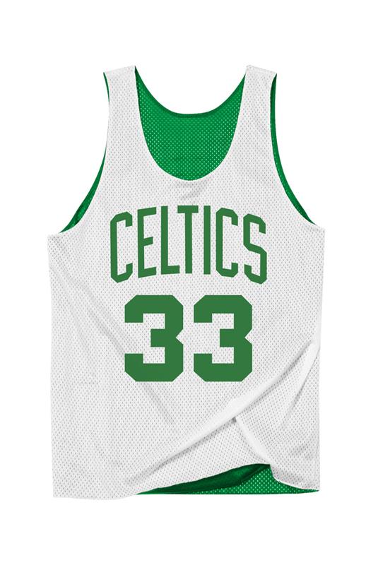 Celtics White Double-Face Bird