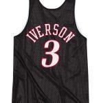Philadelphia 76ers Double-Face Iverson Black
