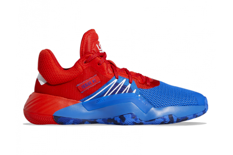 Adidas created a red and blue Spider Man sneaker with